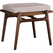 Crypton Fabric 7605 31 Walnut Grove Footstool