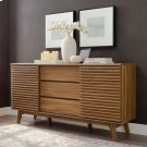 "Render 63"" Sideboard Buffet Table or TV Stand in Walnut Product Image"