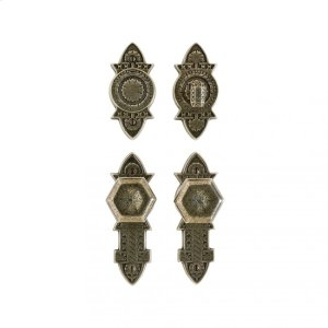 """Briggs Entry Set - 2 3/8"""" x 7"""" Silicon Bronze Brushed Product Image"""