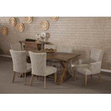 Rustica Ash Grey Dining table
