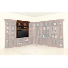 LEONARDO 60 in. Bookcase TV Hutch