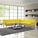 Engage L-Shaped Sectional Sofa in Sunny Product Image