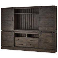 Sonoma 4 Door Sliding Cabinet