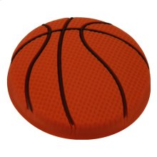 Kids Orange Basketball Cabinet Knob