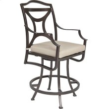 Swivel Counter Stool W/ Arms