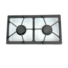 Gas Two-Burner Module (10k burners), White