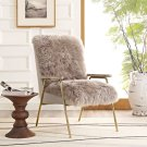 Sprint Sheepskin Armchair in Brown Brown Product Image