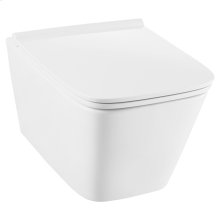 DXV Modulus Wall-Mounted Elongated Toilet - Canvas White