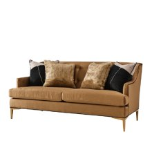 Elaine Loveseat (brass)