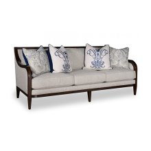 Bristol Three Seat Sofa with Tapered Legs