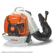 The most powerful professional blower available in the STIHL range.