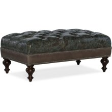 Bradington Young Rects Tufted Rectangle Ottoman 805-REC