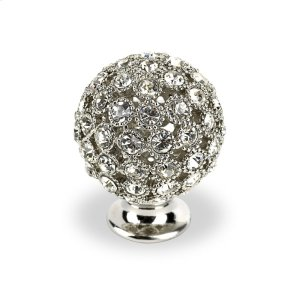 Round Small Bright Chrome Swarovski Crystals Product Image