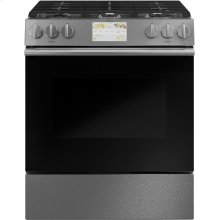 "Café 30"" Smart Slide-In, Front-Control, Dual-Fuel Range"