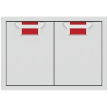 "Double Access Doors, 30""-red"