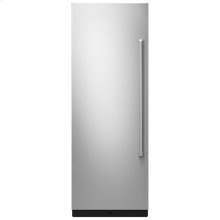 """30"""" Built-In Column Refrigerator with Pro-Style® Panel Kit, Left Swing"""
