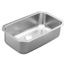 1800 Series 30.25 x 18.25 stainless steel 18 gauge single bowl sink