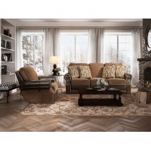 Jefferson Bark-Caravane-Auburn Loveseat