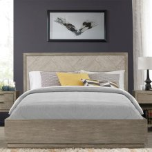 Zoey - Queen/king Panel Bed Rails - Urban Gray Finish
