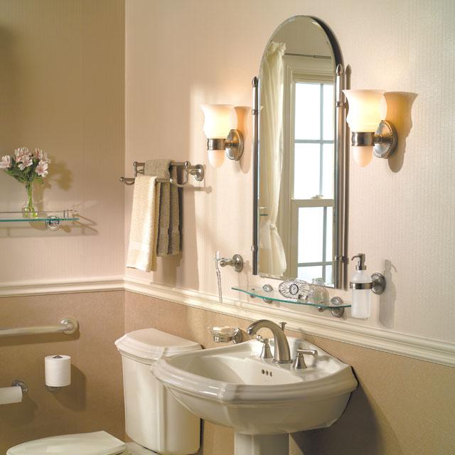 Additional Satin-Nickel Double Post Toilet Tissue Holder