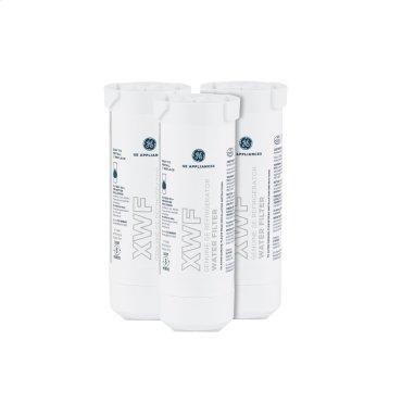 GE® XWF Refrigerator Water Filter 3-Pack