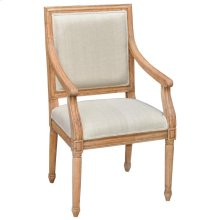 London Dining Chair With Arm w/o Lion Handle