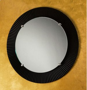 """Round Engraved Mirror- 3"""" Border Product Image"""