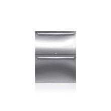 "24"" Designer Outdoor Refrigerator Drawers - Panel Ready"