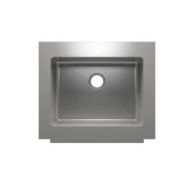 """Classic+ 000120 - farmhouse stainless steel Kitchen sink , 24"""" × 18"""" × 10"""""""