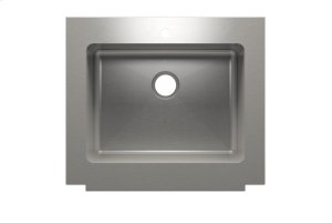 "Classic+ 000120 - farmhouse stainless steel Kitchen sink , 24"" × 18"" × 10"" Product Image"