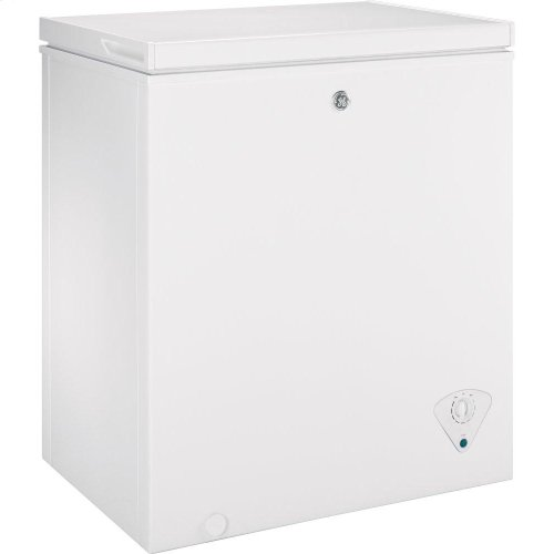 GE® 5.0 Cu. Ft. Manual Defrost Chest Freezer