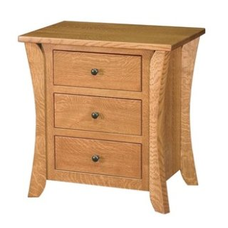 Chandler 3 Drawer Nightstand