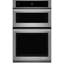 """Jenn-Air® 27"""" Microwave/Wall Oven with MultiMode® Convection System, Euro-Style Stainless Handle"""
