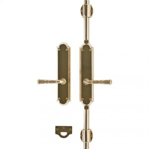 """Arched Cremone Bolt 2 1/2"""" x 11"""" Silicon Bronze Brushed Product Image"""