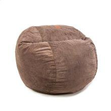 Full Chair - Micro Fur - Brown