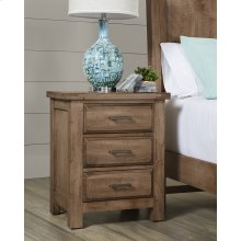 Nightstand - 3 Drawer
