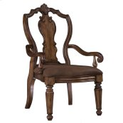 San Mateo Carved Back Arm Chair