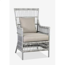 (LS) Outdoor High Back Winston Chair with Cushion (24X27X40)