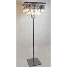 Crystal Square Floor Lamp