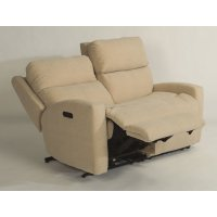 Catalina Leather Power Reclining Sectional with Power Headrests Product Image