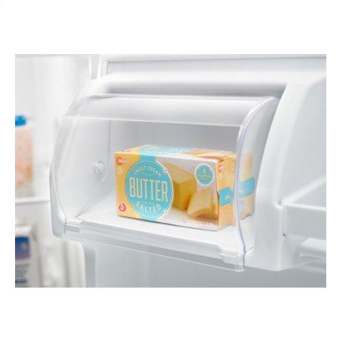Amana® 30-inch Wide Top-Freezer Refrigerator with Glass Shelves - 18 cu. ft.
