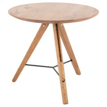 Theo Side Table  Hard Fumed