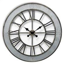 Metal Wall Clock  31in X31in X 2in