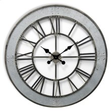 Metal Wall Clock  31in X31in X 2in