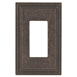 Riverside Wall Plate - Antique Satin Bronze Product Image