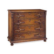 Four-Drawer Antler Dresser