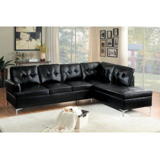 Barrington Sectional Black