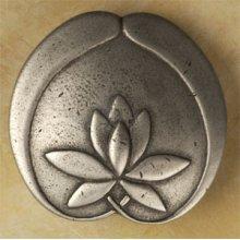 Asian Lotus Flower Knob Large