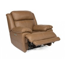 Elijah Leather Power Recliner with Power Headrest