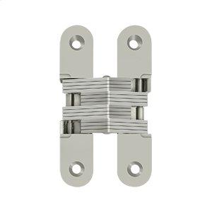 "4 5/8"" x 1"", Concealed Hinge - Brushed Nickel Product Image"